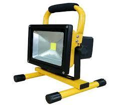 30w 50w battery powered floodlight outdoor led flood light