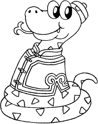 snake coloring pages parenting times