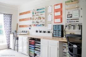 Furniture For Craft Room - creative thrifty u0026 small space craft room organization ideas