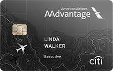 elite debit card airline credit card citi aadvantage executive citi