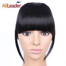 clip in bangs alileader black brown fringe clip in bangs hair