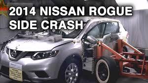 nissan rogue youtube 2016 2014 nissan rogue side crash test crashnet1 youtube