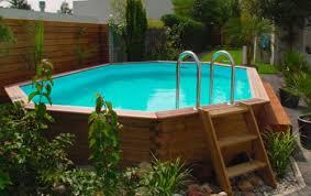 piscine hors sol bois oblong m2 6 20 x 3 90 m h 1 20 m