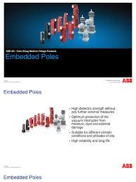 abb epoxy pole power supply transformer