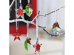 swarovski 905210 poinsettia ornament small