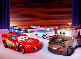 cars sally and lightning mcqueen kiss show and tell u0027disney on ice worlds of enchantment u0027 parentmap