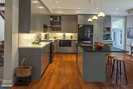 Kitchen With Black Cabinets 13 Amazing Kitchens With Black Appliances Include How To Decorate