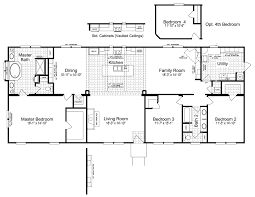 3 bedroom modular home floor plans the sonora ii ft32763b manufactured home floor plan or modular