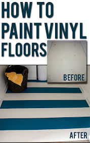 How To Cover Kitchen Cabinets With Vinyl Paper How To Paint Vinyl Or Linoleum Sheet Flooring