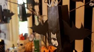 bat halloween treat bags how to halloween with modernmom youtube