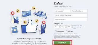 kesulitan membuat akun facebook cara membuat akun facebook melalui hp maupun komputer terbaru