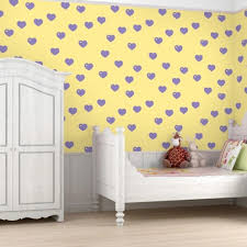 Colorful Patterned Wallpapers For Kids Rooms By Allison Krongard - Kid room wallpaper