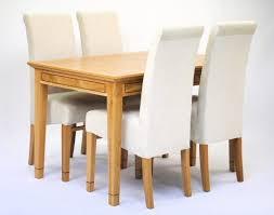 round table and chairs small dining table chairs lusso plain cream angled view nav o ridit