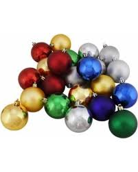 savings on 72ct shatterproof traditional multi color shiny matte