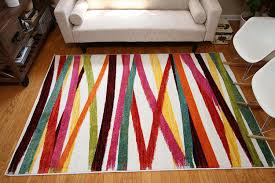 Modern Colorful Rugs Radiance Collection Contemporary Modern Lines Wool