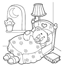 goodnight holidays teddy bear coloring pages coloring sky