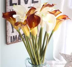 Silk Calla Lilies Calla Lily Bouquets Pictures 10pcs Artificial Latex Calla Lily
