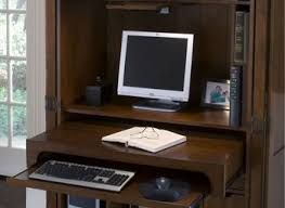 Locking Computer Desk Desks Kensington Desktop Locking Kit Computer Armoire With Doors