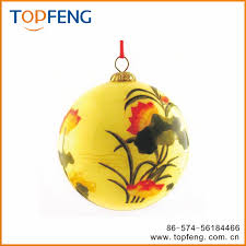 clear christmas ornaments painted inside glass ornament with