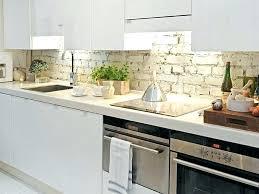 kitchen with brick backsplash faux brick backsplash in kitchen kitchen modern tile faux brick in