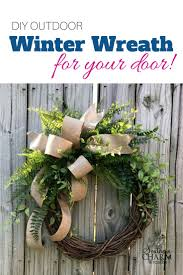 Decorate Christmas Grapevine Wreaths by Best 25 Winter Wreaths Ideas On Pinterest Initial Wreath