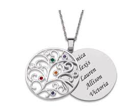 mothers necklaces with names and birthstones 45 best personalized jewelry for images on