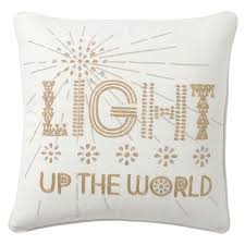 Light Up The World Empowerment Pillow Light Up The World Pbteen