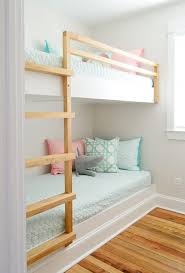 Diy Bunk Bed How To Make Diy Built In Bunk Beds House