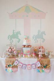 carousel baby shower ride the pastel carousel the party connection your liaison to