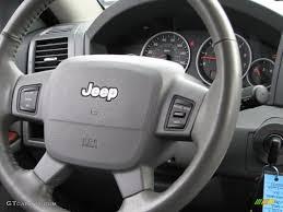 2005 jeep grand cherokee limited medium slate gray steering wheel