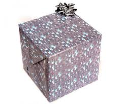in wrapping paper minecraft wrapping paper happy holidaysssss technabob