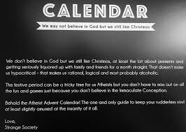 strange society atheist cards u0026 atheist advent calendar strange