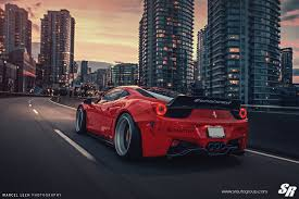 Ferrari 458 Gold - liberty walk ferrari 458 italia on pur wheels italian cuisine