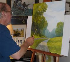 painting with gouache ralph parker artist