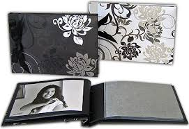 designer photo albums grindy 7x5 designer photo albums black pages