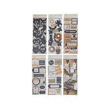 Anna Griffin Craft Room Furniture - anna griffin halloween embellishment 3d stickers 8170696 hsn