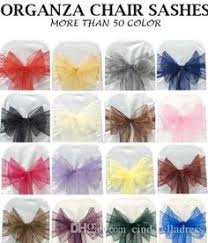 cheap sashes for chairs cheap organza chair sashes bow cover wedding chair sashes new year