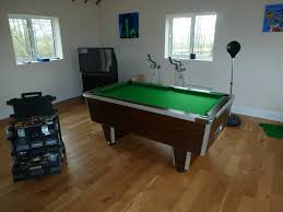 pool table dismantle from loft 2 floors up to new games room in
