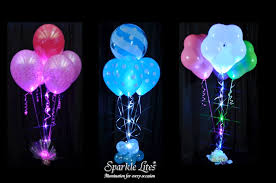 Balloon Bouquets Sparkle Ribbon In Balloon Bouquets