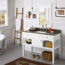 mirrored bathroom vanity ronbow langley 48 in single bathroom
