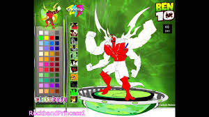 ben 10 games ben 10 coloring games youtube