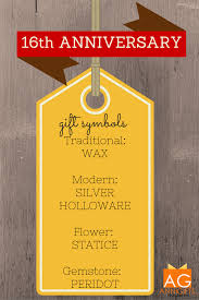 silver holloware gifts happy 16th wedding anniversary 16th anniversary gift ideas