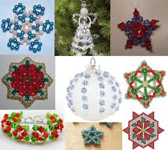 free christmas beading patterns featured in bead patterns com