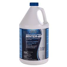 shop aqua ez 1 gallon pool chemical winter stabilizer at lowes com