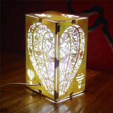 dã coration mariage aliexpress buy usb led light table l home
