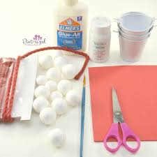 easy diy snowball fight ornament pint sized treasures