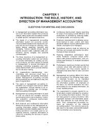 solution manual managerial accounting hansen mowen 8th