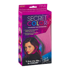 demi lovato hair extensions secret color headband hair extensions pink 1 0 ct walmart