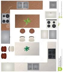 floor plans for kitchens floor plan kitchen collection stock images image 33070064