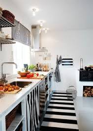 Black And White Striped Kitchen Rug Black And White Striped Kitchen Rug Home Design Ideas And Pictures
